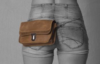 Jeans clutches